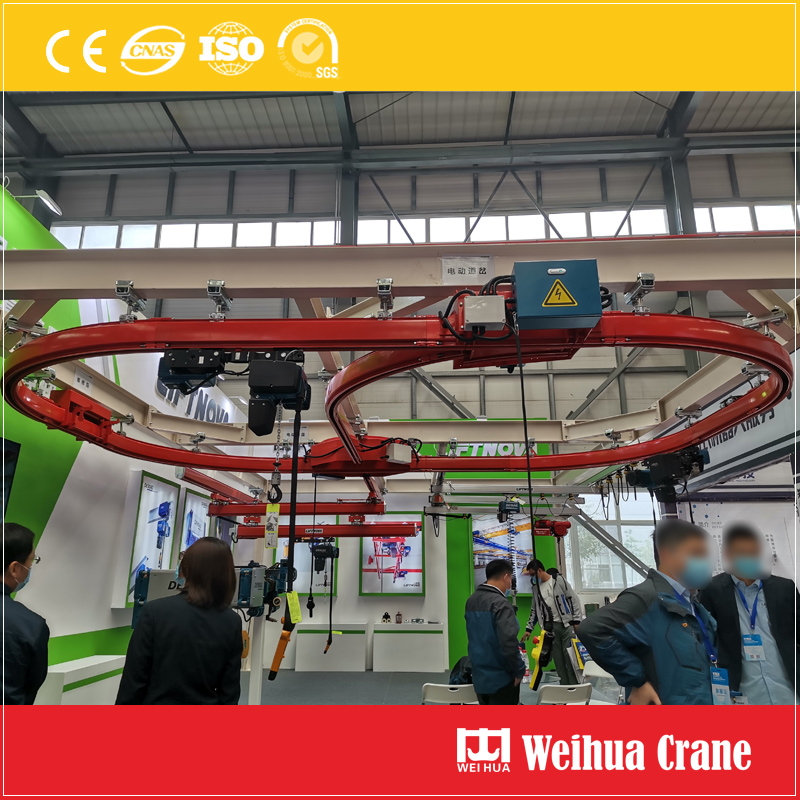 Circular-orbit-suspension-crane