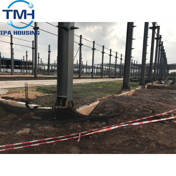 fabrication steel structure warehouse industrial designs
