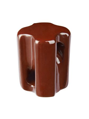 strain insulator brown
