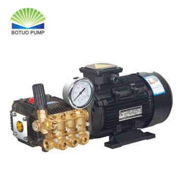 high pressure cleaning triplex plunger pump