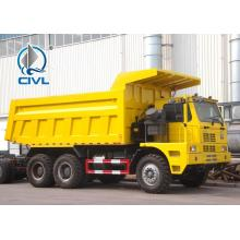 10 Wheels Mine Dump Truck High Loading Capacity