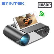 BYINTEK K9 HD 720P 1080P Mini Projector LED Portable Micro Home Theater (Optional Multi-Screen For Iphone Ipad Phone Tablet)
