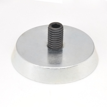 Round Fixing Magnet for Precast Concrete Formwork