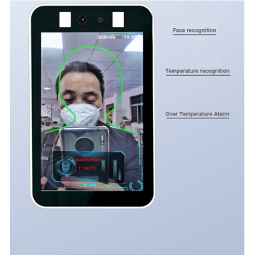 Face Recognition Temperature Detection Camera