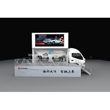 High Pixel LED Screen Product Display Vehicle