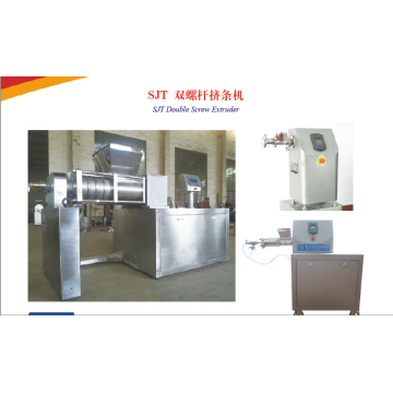 High Efficiency Double Screw Extruding Granulator Machine