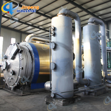 Used Tire Pyrolysis Plant For Sale