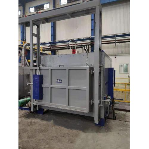 High temperature box type furnace