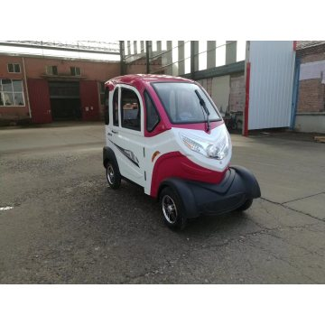 Low-speed electric vehicle with protection