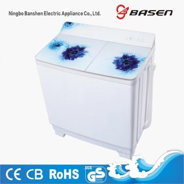 Classic Glass Cover 10KG Twin Tub Washing Machine