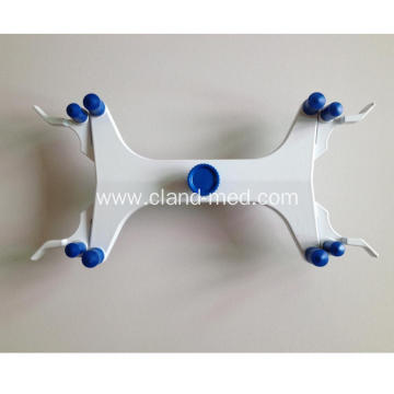 Customized Metal  Double  Burette  Clamp For Teaching Use