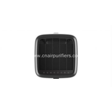 Air cleaner with humidification