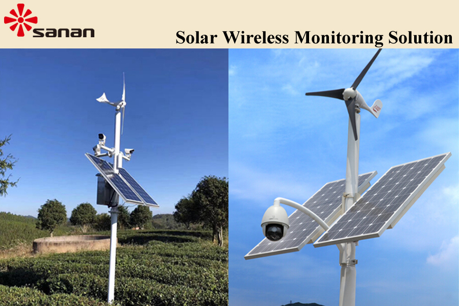 Solar Wireless Monitoring Solution