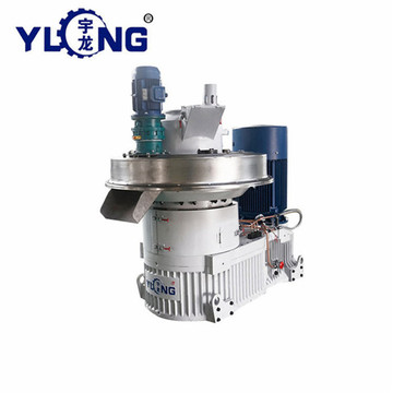High pressure pellet machine for burning