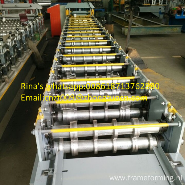 Middle Plate frame steel roof /wall sheet roll forming machine