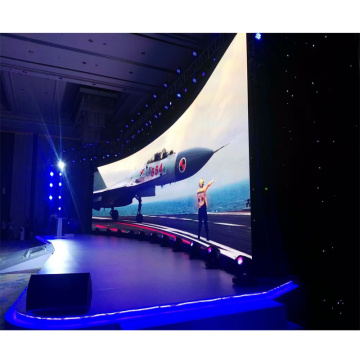 Indoor thin led screen video wall for advertising