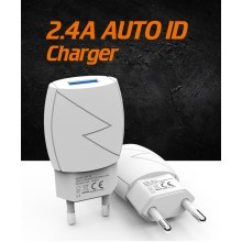 12W USB Wall Charger For Mobile Phone