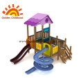 Outdoor Playground Equipment Purple Slide For Sale