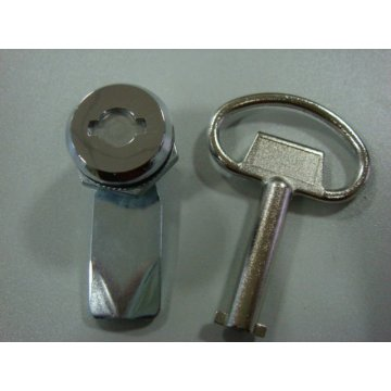 Zinc Alloy Bright Chrome-coated Cabinet Cam Locks
