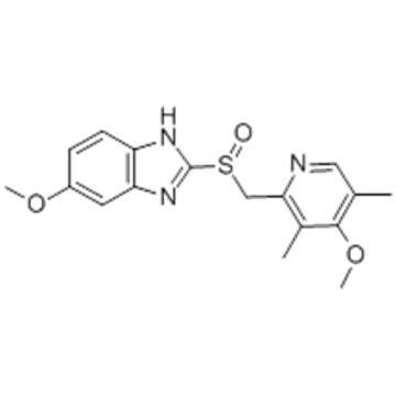 1H-Benzimidazole,6-methoxy-2-[(S)-[(4-methoxy-3,5-dimethyl-2-pyridinyl)methyl]sulfinyl]- CAS 119141-88-7