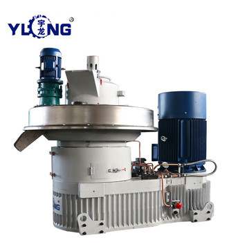 Yulong Machinery for Pressing Wood Pellets
