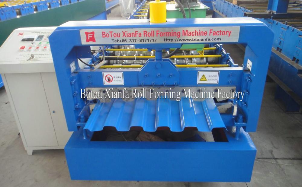 Automatic Roofing Tile Bending Roll Forming Machine