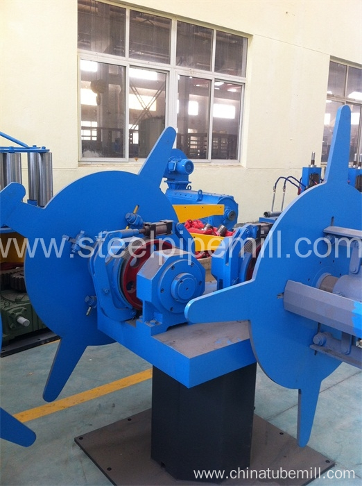 high frequency suqare pipe production line