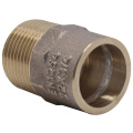 Gunmetal Bronze Male Adapter Connector