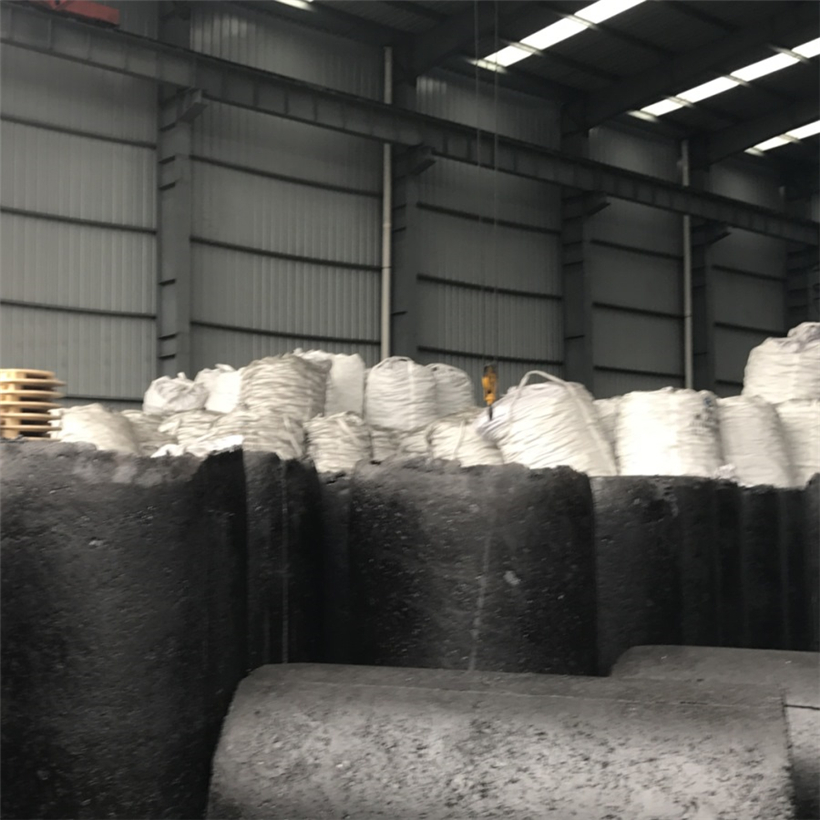 Soderberg carbon electrode paste for calcium carbide