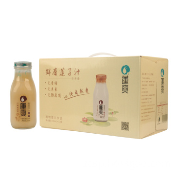 Plain lotus seed juice