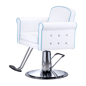 Blue Border Line Styling Chair