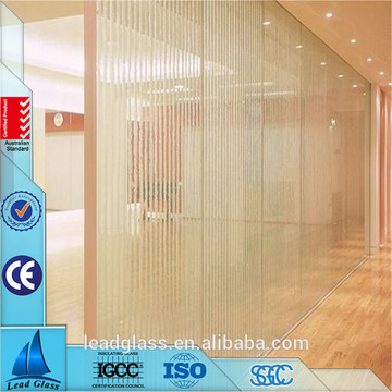 Clear Laminated Glass For Exterior Curtain Facade Wall