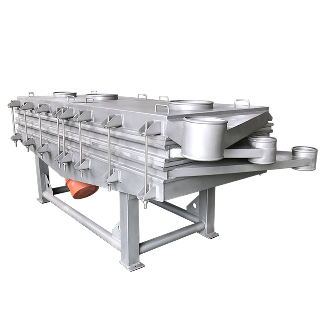 Fine screening linear vibrating sifter screen sieve