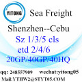 FCL,LCL Shipment From Shantou To  Cebu