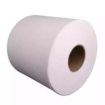 Cotton Spunlace Mesh Nonwoven Fabric Roll