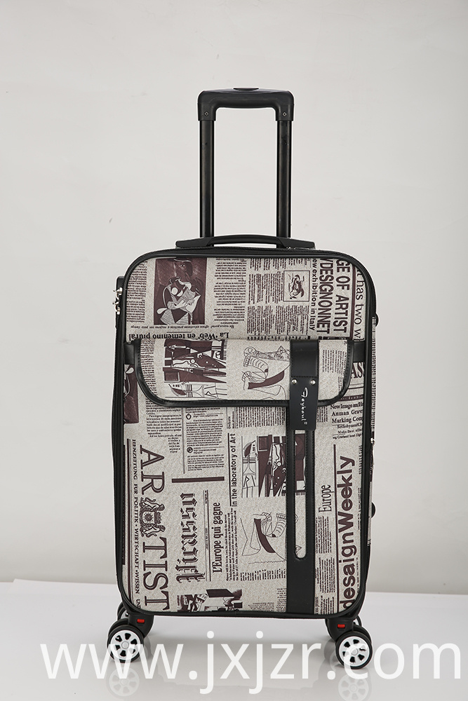 Expandable Suitcase with Spinner Wheels