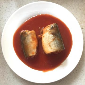 Canned Mackerel In Hot Tomato Sauce 425g