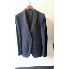 Blazer father son black coat pant men suit