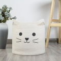 Folding Cat Design Laundry Basket with Handle