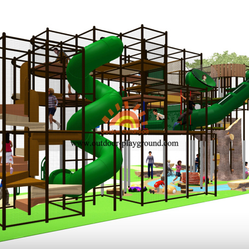 Tree Themes Indoor Playground Structure