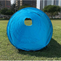 Easily carry 18 Ft Dog Agility Training Tunnel Dog obstacle course equipment