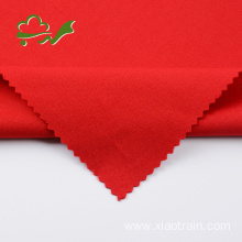 Red knitted plain soft garment spandex fabric