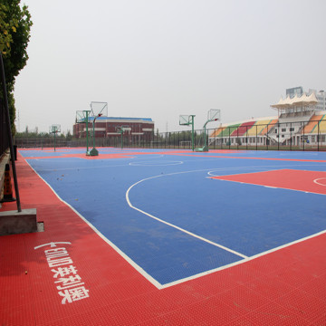 PP Interlocking Court Tiles for Basketball Tennis Outdoor