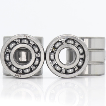 6201 Bearing 12*32*10 mm ABEC-3 P6 ( 8 PCS ) For Motorcycles Engine Crankshaft 6201 OPEN Ball Bearings Without Grease