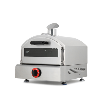 Gas  mini pizza oven with stainless steel