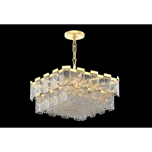 Modern Art Deco Style Living Room Crystal Chandelier
