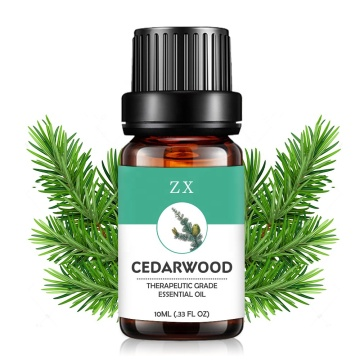 100% pure natural cedarwood essential oil