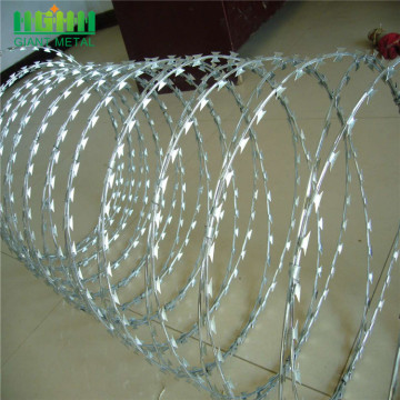 Highly Developed Form of Traditional Razor Barbed Wire