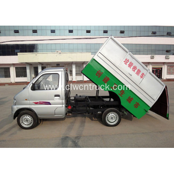 Cheap DONGFENG mini 3cubic meters garbage transport truck