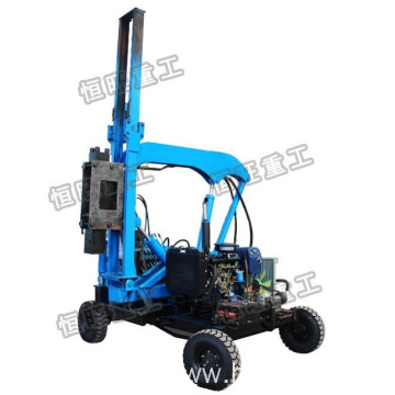 Mini Road Guard Rail Hydraulic Vibratory Pile Driver